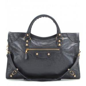 Balenciaga Black Giant 12 City Bag