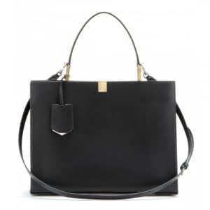 Balenciaga Black Le Dix Cabas Tote Bag