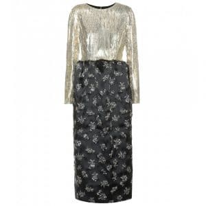 Balenciaga Embellished Metal Dress