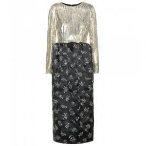 Balenciaga Embellished Metal Dress