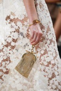 Balenciaga Gold Chain Clutch Bag 3 - Spring 2016