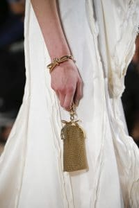 Balenciaga Gold Chain Clutch Bag - Spring 2016