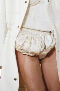 Balenciaga Off White Satin Fanny Bag 4 - Spring 2016