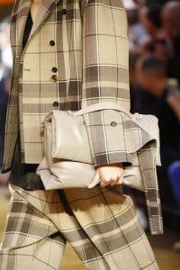 Celine Beige Puffer Oversized Clutch Bag - Spring 2016