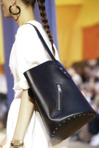 Celine Black Bucket Tote Bag - Spring 2016