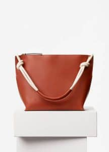 Celine Brick Natural Calfskin Medium Sailor Bag