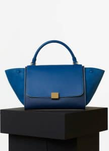 Celine Sea Smooth Calfskin Trapeze Medium Bag