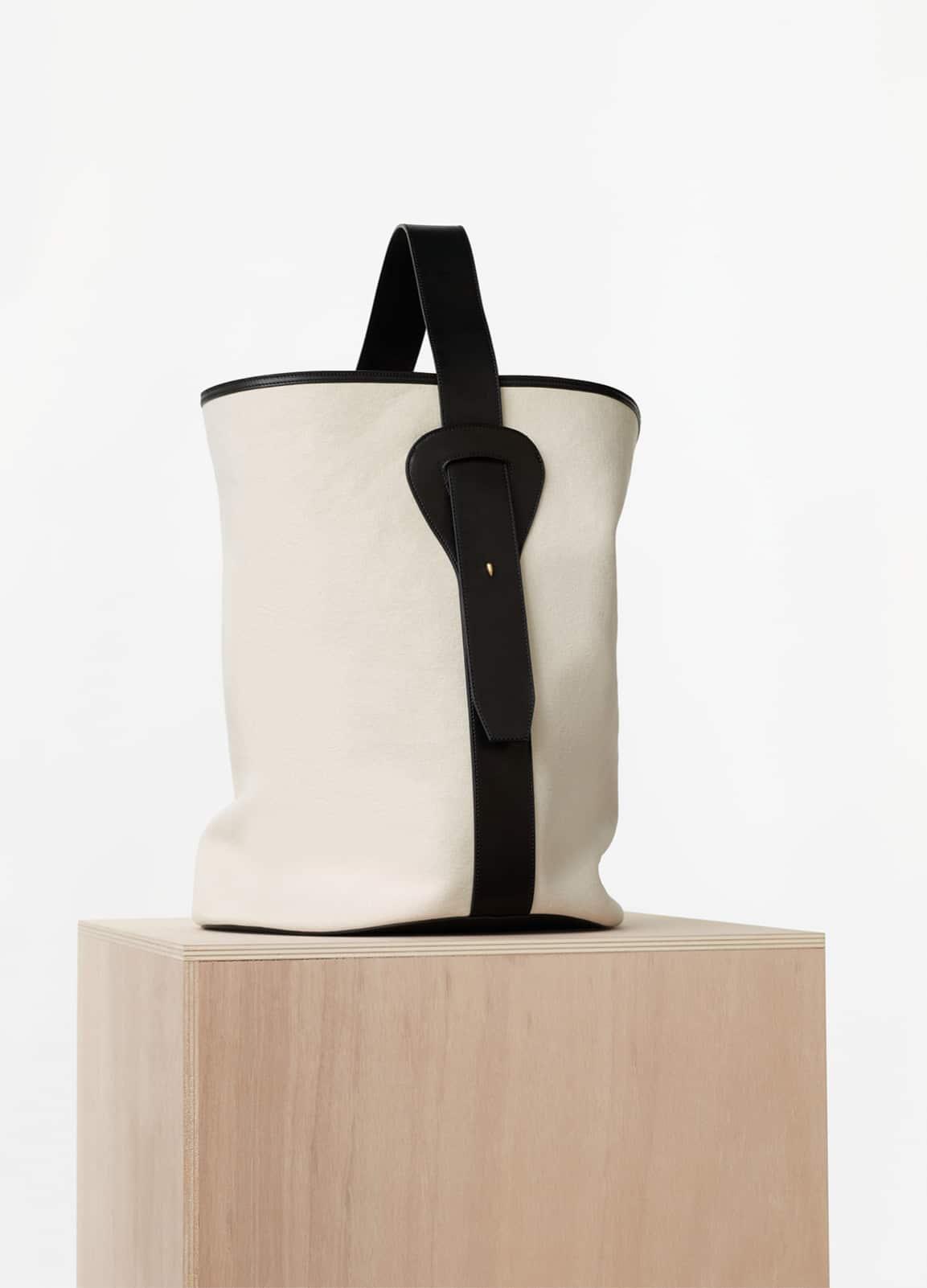 celine baguette canvas bag