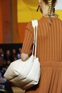 Celine White Puffer Shoulder Bag 2 - Spring 2016