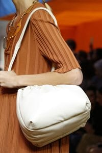Celine White Puffer Shoulder Bag - Spring 2016