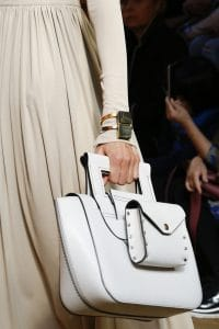 Celine White Top Handle Bag 2 - Spring 2016
