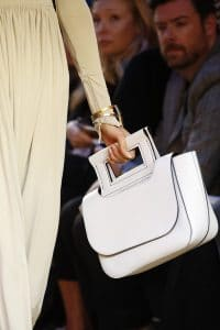 Celine White Top Handle Bag - Spring 2016