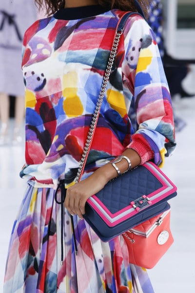 08e979e81cca Chanel Spring/Summer 2016 Runway Bag Collection Featuring An Airport ...
