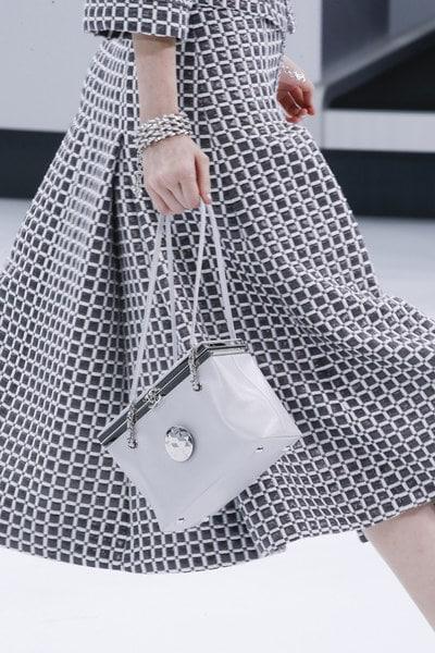 Chanel Gray Box Bag - Spring 2016