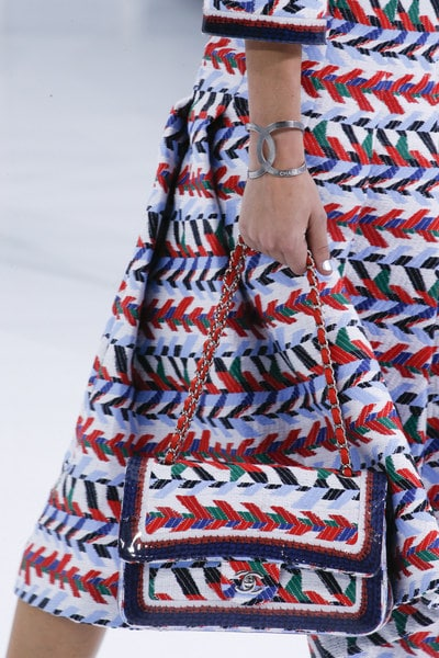 Chanel Multicolor Embroidered Classic Flap Bag - Spring 2016