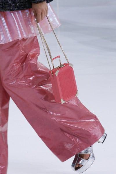 Chanel Pink Nano Luggage Bag - Spring 2016