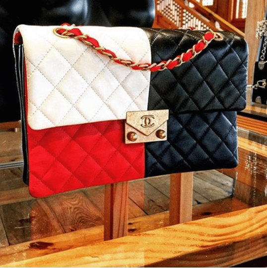 ba734e11c0da Chanel Red Blue White Black Quilted Flap Bag - Cruise 2016. IG   lux brands boutique