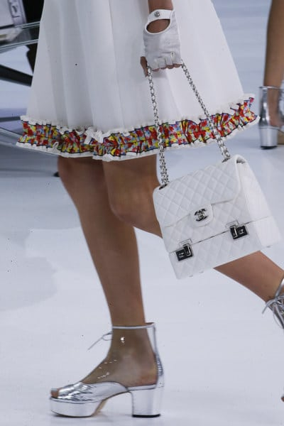 Chanel White Quilted Flap Bag - Spring 2016
