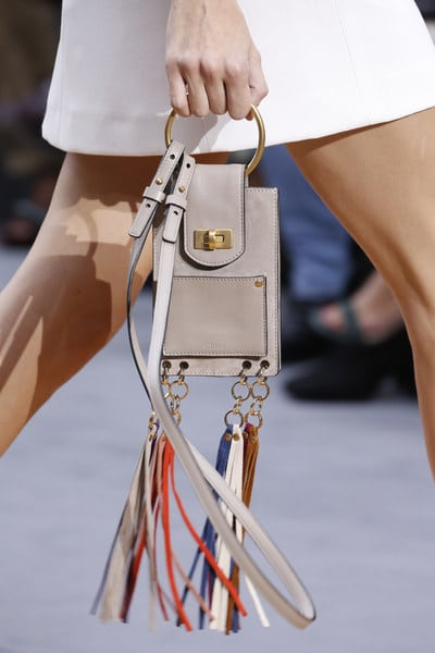 Chloe Spring/Summer 2016 Runway Bag Collection Featuring The Nano ...