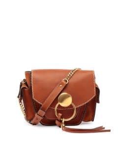 Chloe Caramel Leather Jodie Small Camera Bag