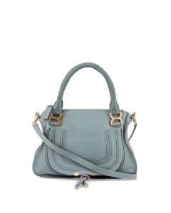 Chloe Light Blue Marcie Medium Bag