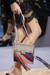 Chloe Multicolor Leather/Suede Tasseled Flap Bag - Spring 2016