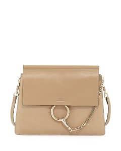 Chloe Tan Leather Faye Medium Bag