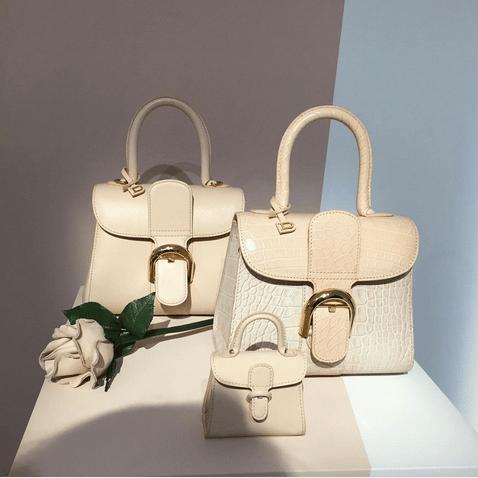 Delvaux Beige Brillant Bags- Spring 2016