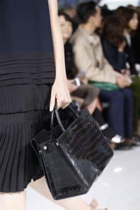Dior Black Crocodile Tote Bag 2 - Spring 2016
