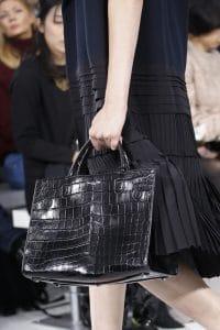 Dior Black Crocodile Tote Bag - Spring 2016
