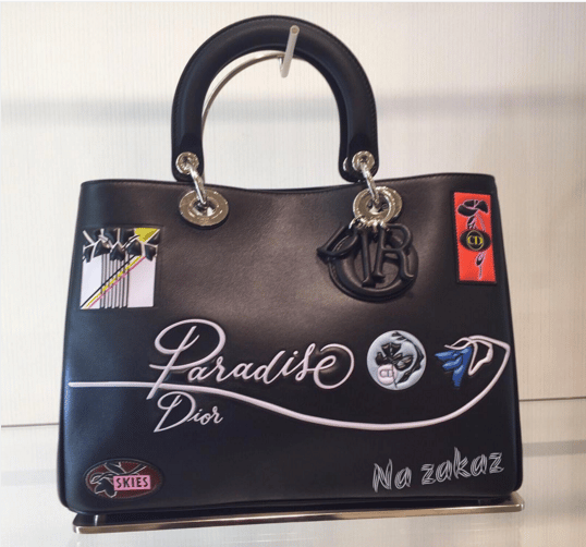 Dior Black Paradise Diorissimo Bag - Cruise 2016. IG   na zakaz  6aa914b6fb21d