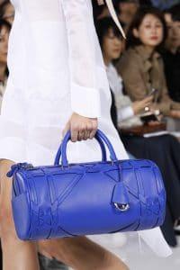 Dior Blue Duffel Bag - Spring 2016