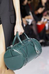 Dior Blue Green Duffel Bag - Spring 2016