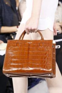 Dior Brown Crocodile Tote Bag - Spring 2016