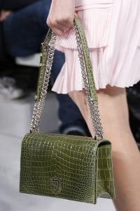 Dior Green Crocodile Diorama Flap Bag - Spring 2016