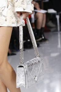 Dior Silver Diorama Flap Bag 2 - Spring 2016
