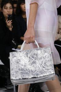 Dior Silver Tote Bag - Spring 2016