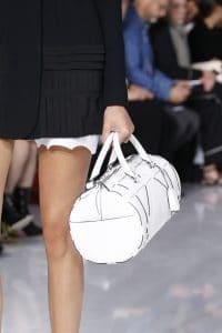 Dior White Duffel Bag 2 - Spring 2016