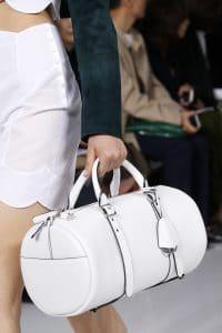 Dior White Duffel Bag 3 - Spring 2016