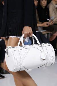 Dior White Duffel Bag - Spring 2016
