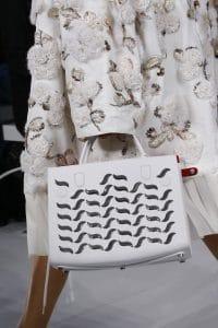 Dior White Embellished Tote Bag - Spring 2016