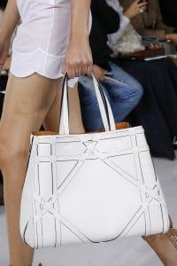 Dior White Large Tote Bag 2 - Spring 2016