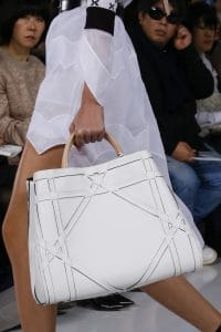 Dior White Large Tote Bag - Spring 2016