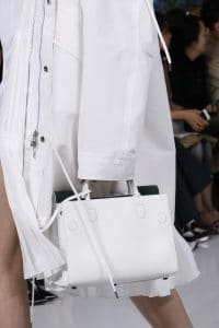 Dior White Tote Bag - Spring 2016