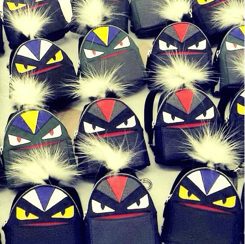 Fendi Bag Bugs Backpack Charm 2