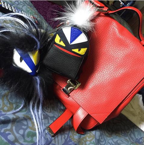 Fendi Bag Bugs Backpack Charm 8