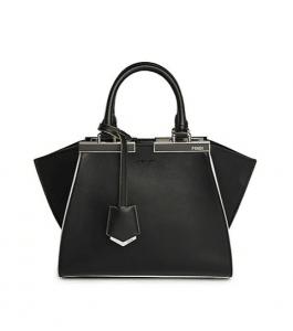 Fendi Black 3Jours Mini Tote Bag
