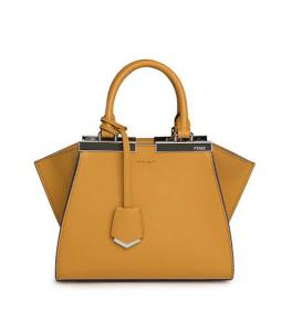 Fendi Honey 3Jours Mini Tote Bag