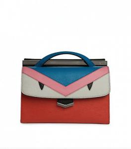 Fendi Multicolor Monster Demi Jour Small Bag