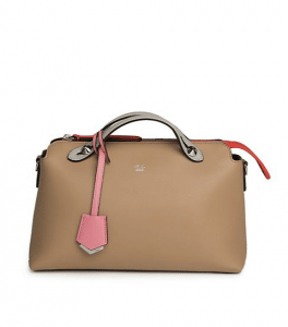 Fendi Nude Colorblock By The Way Small Bag